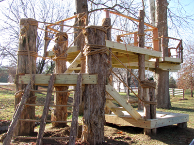 Up and Away Treehouses - We Know How To Design and Build a ...
