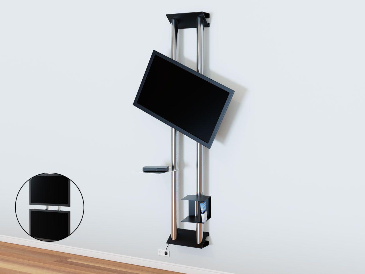 Design Tv Wandhalter Mit Ablage Cmb 277 Wandhalterung Halterung
