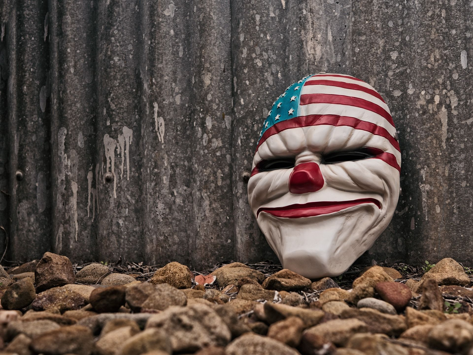 payaso, máscara, carnaval, horror, playa - Fondos de Pantalla HD - professor-falken.com