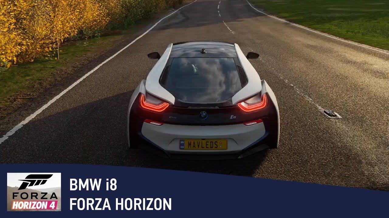Car bmw i8 2015 on forza horizon 4 gameplay in 2020
