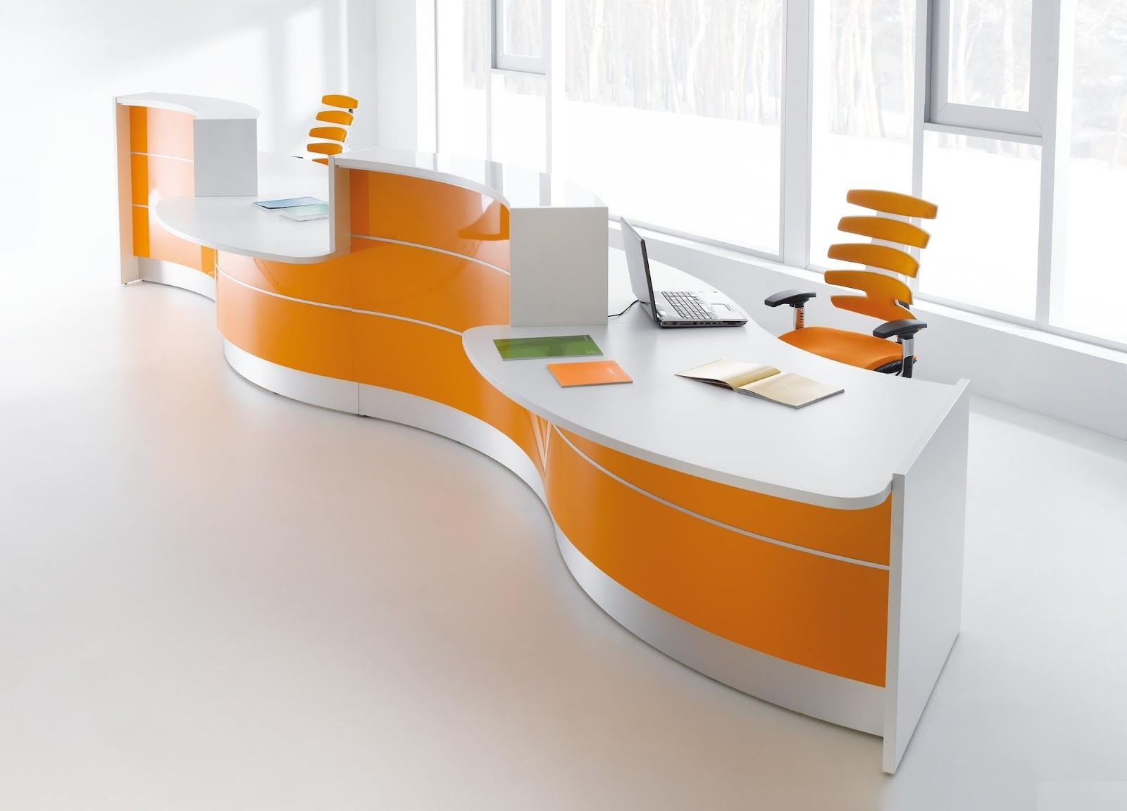 Colour up your office !: Empfangstheke gebraucht, Empfangstheke ...