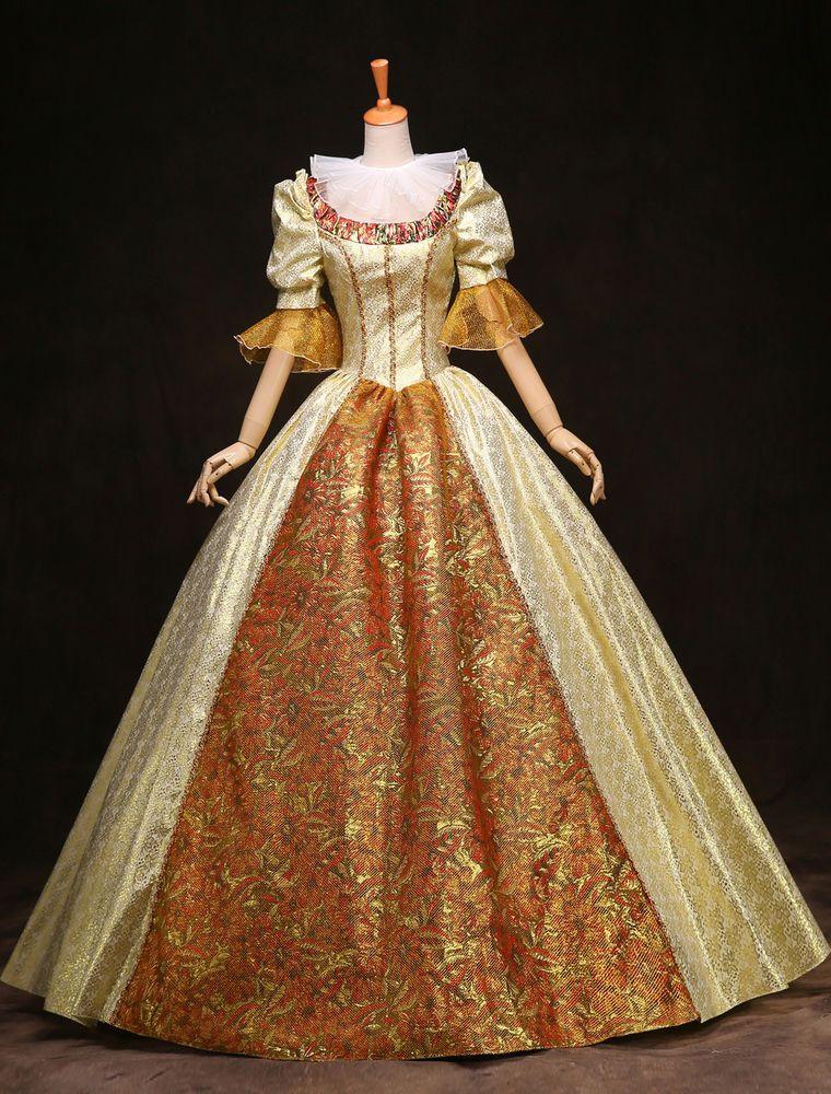 6fd1e763a777 Medieval Marie Antoinette Renaissance Ball Gown queen Victorian dress Belle  #Unbranded #BallGownBubble #Casual