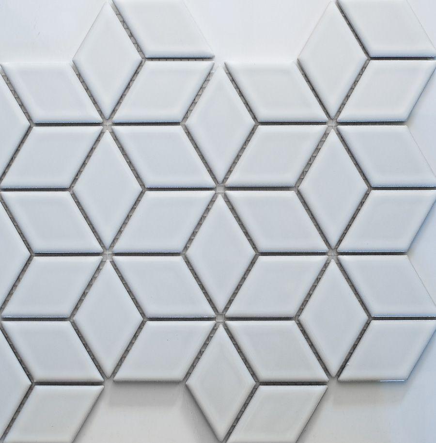 Academy Tiles Ceramic Mosaic Diamond Mosaic 83408 Diamond 48 X 48mm Mosaics Pinterest