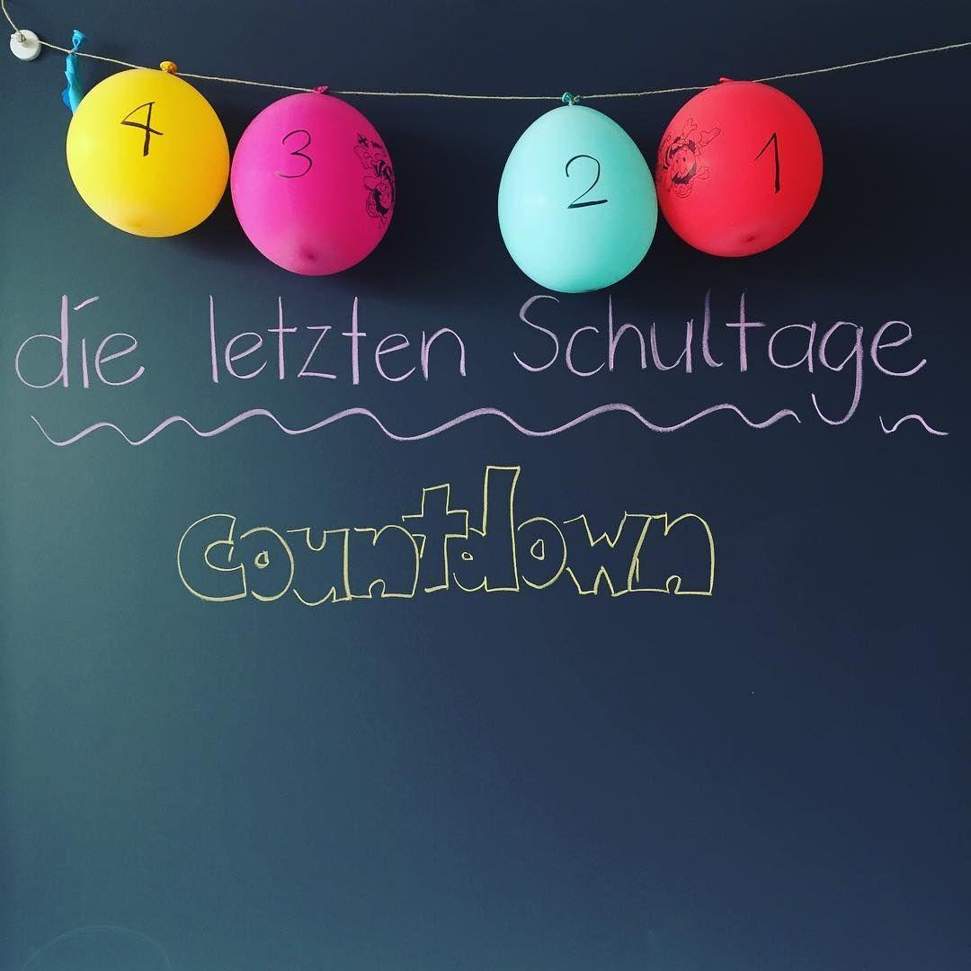 Neue lage - nur noch 4 Tage! ☀️ #countdown #schulschluss # ...