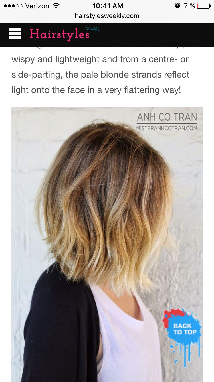 Pin by sarah smith on hair pinterest hair style bob hair color