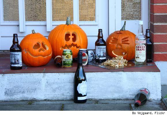 Happy Halloween?! The day after! Funny sick pumpkins collection!