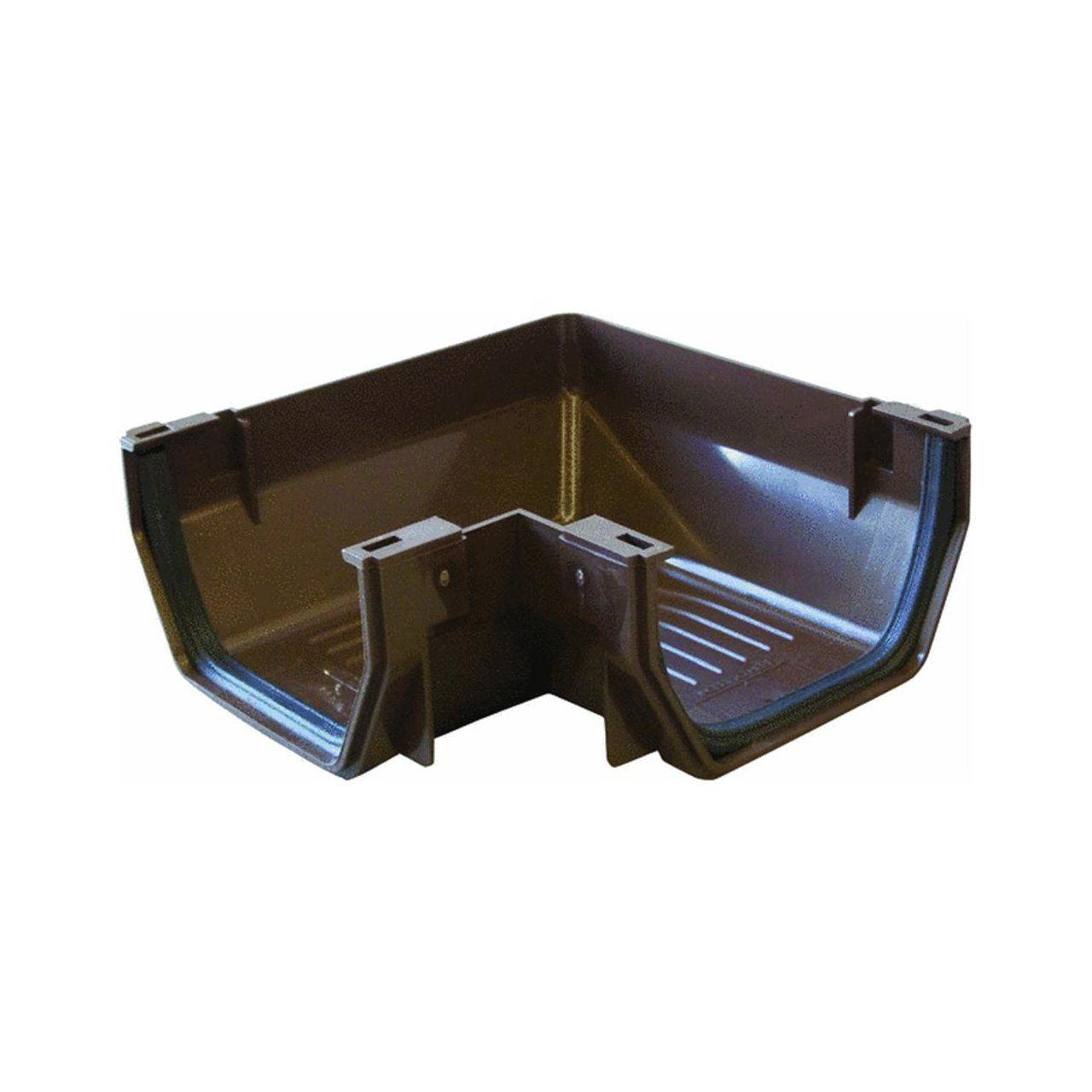 Genova Rb103 Brown Vinyl Gutt Corner Click On The Image For Additional Details Gutter Vinyl Gutter Pvc Gutters