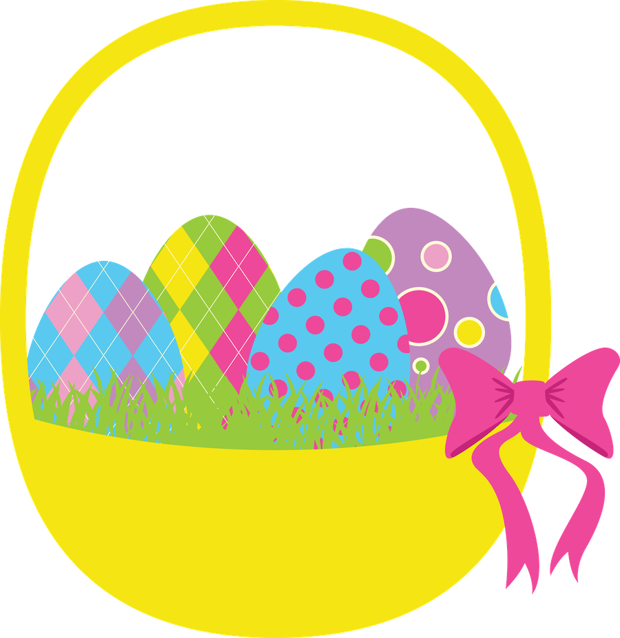Corujas 2 Basket Png Minus Easter Stickers Easter Clipart Easter Games