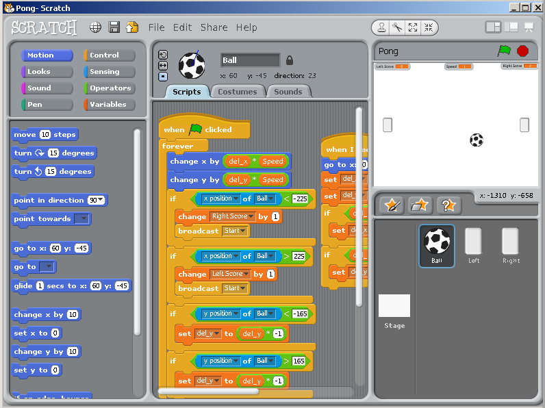 programming with scratch  Linux journal  | software | Visual