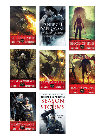 The Best Order To Read The Witcher Series By Andrzej Sapkowski Edmonton Public Library Bibliocommons The Witcher Books The Witcher Book Series The Witcher