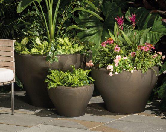 crescent garden planters. Juno Planters | Crescent Garden-Indoor And Outdoor Garden