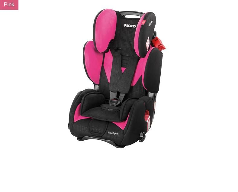 German Recaro Young Sport Booster Made In Usa More Available Models Color Can Be Found At Http Www Kasihkusayangku Com Index Sillas De Coche Sillas Pink