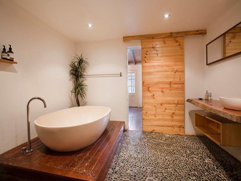 view bathroom ideas%0A Raised freestanding bath  So chic
