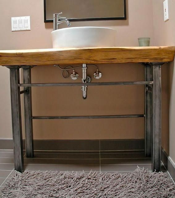 Bathroom Vanity With Metal Legs Home Ideas Modernhomedecorbathroom Reclaimed Wood Bathroom Vanity Bathroom Vanity Designs Wood Bathroom Vanity