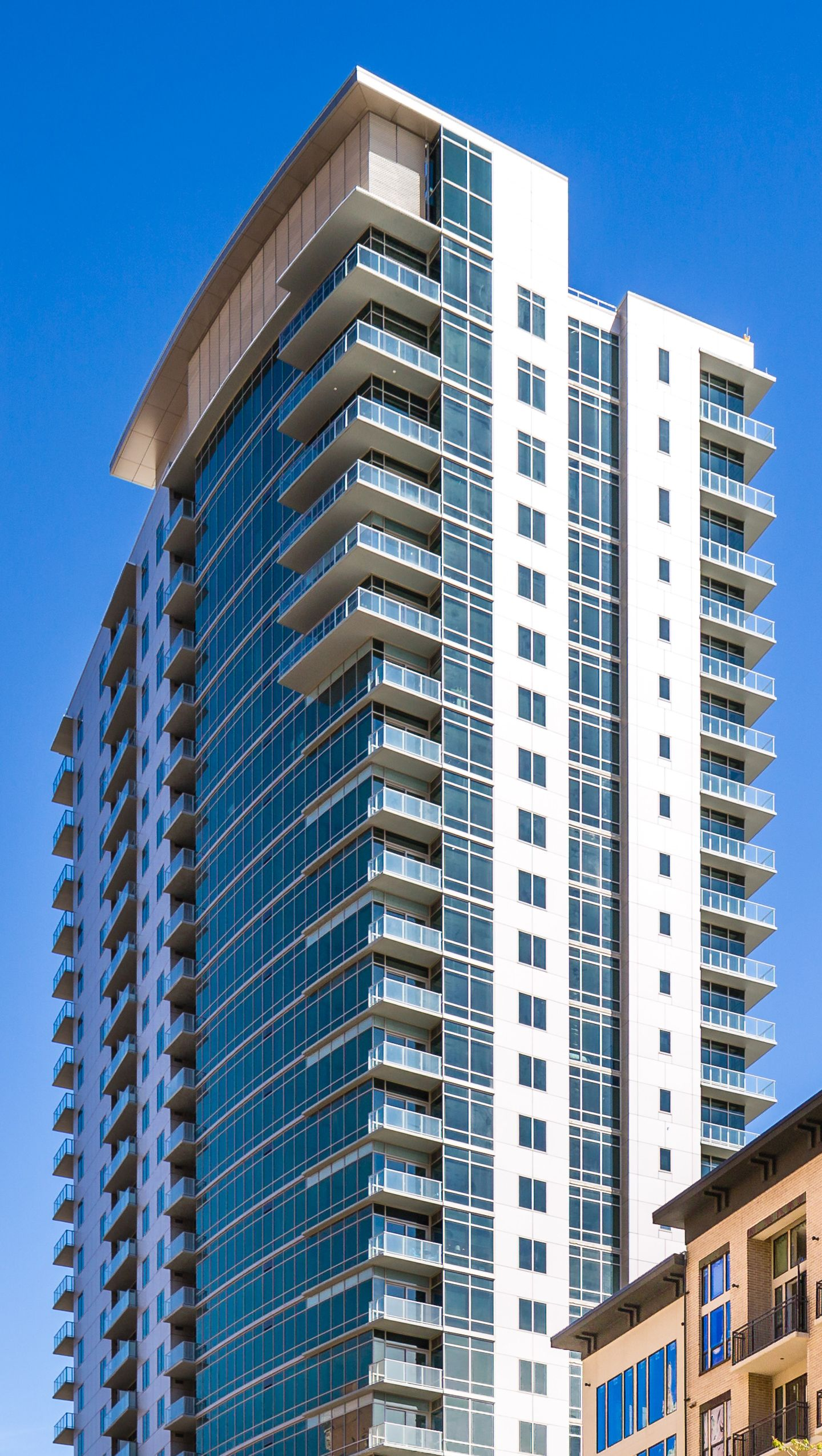 Catalyst Ziegler Cooper Architects Houston Apartment High Rise Building Houston Luxury