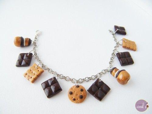 Imagen de fimo and bracelet
