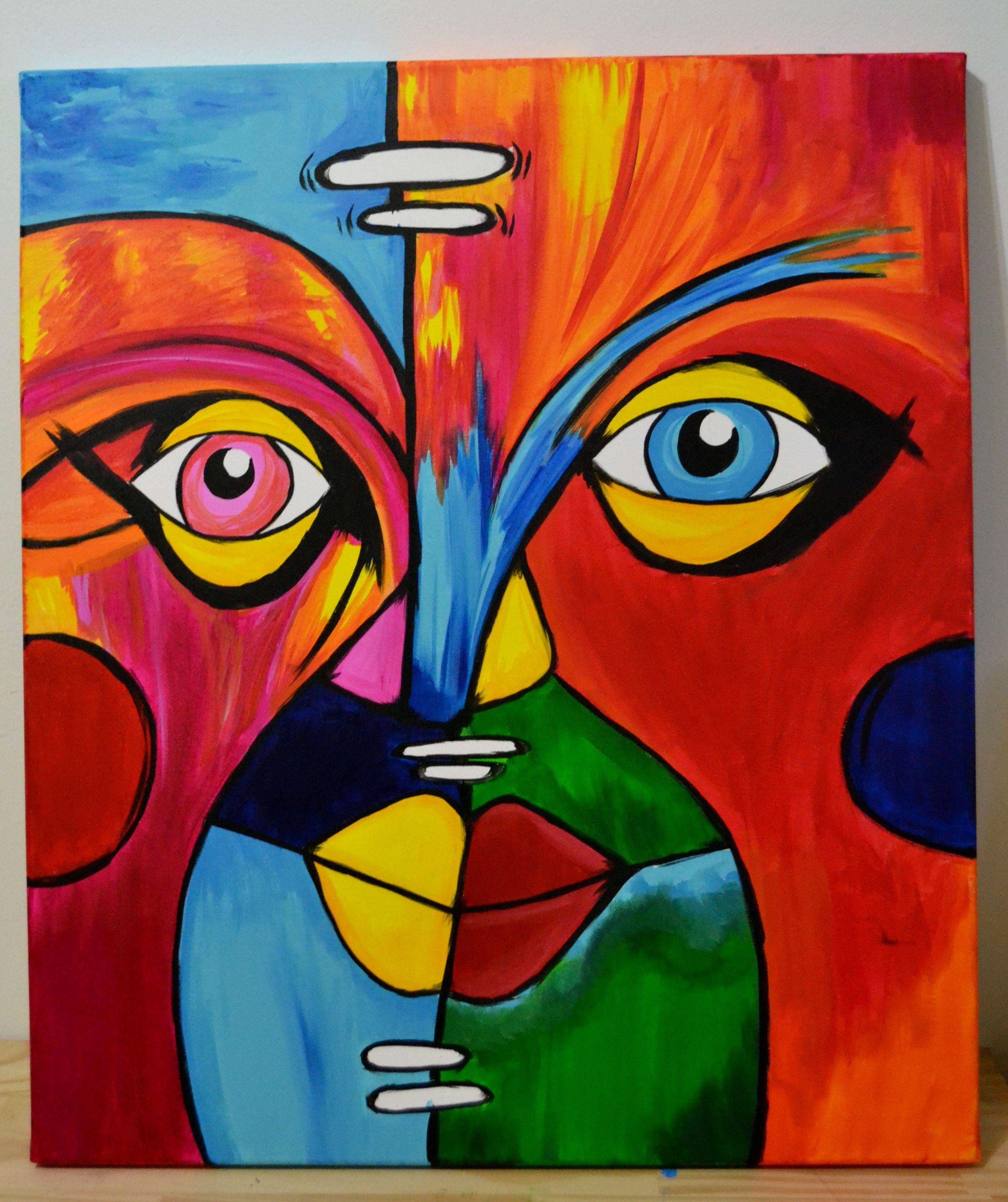 Pinturas de acrilico sobre lienzo arte 494481 new - Pintar en lienzo para principiantes ...