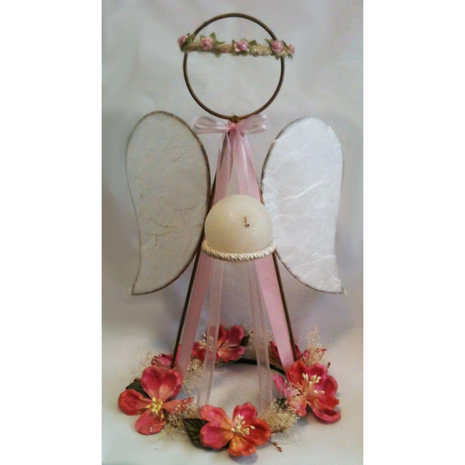 Centro de mesa angel angel herreria grande ngel - Mesa de navidad ...