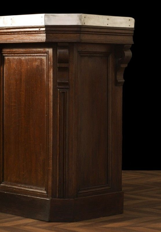 Ancien Comptoir De Bar En Zinc 1920 Bar Counter 1920s Bar Stylish Interiors