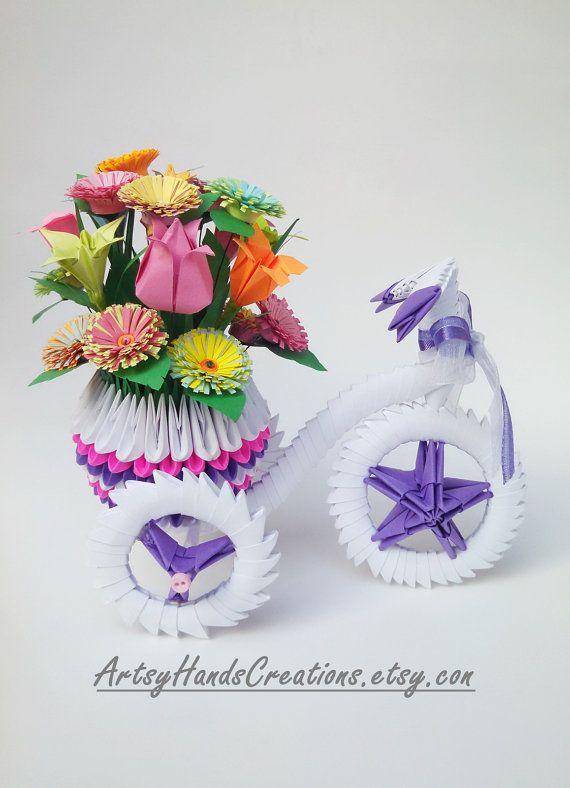 Bulk custom order for esther 3d origami tricycle 3d origami reserve 3d origami tricycle 3d origami by artsyhandscreations mightylinksfo