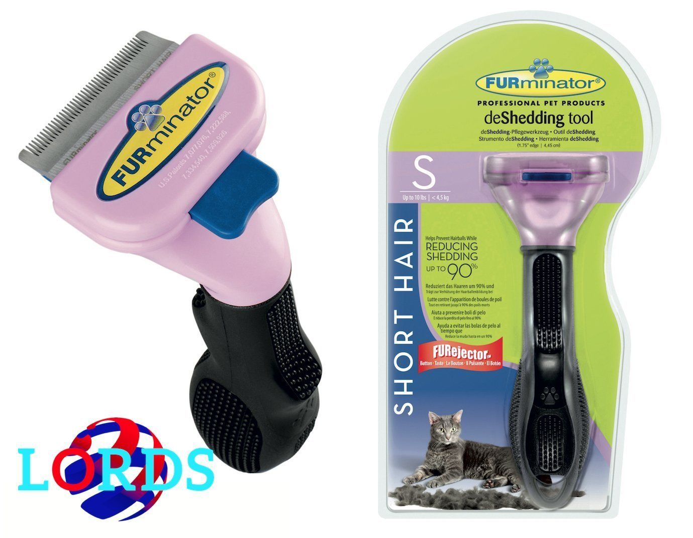 Furminator S Comb Brush For Cats Max 4 5kg Short Hair Less Than 5cm Check Out This Great Article Catgrooming Cat Grooming Furminator Grooming