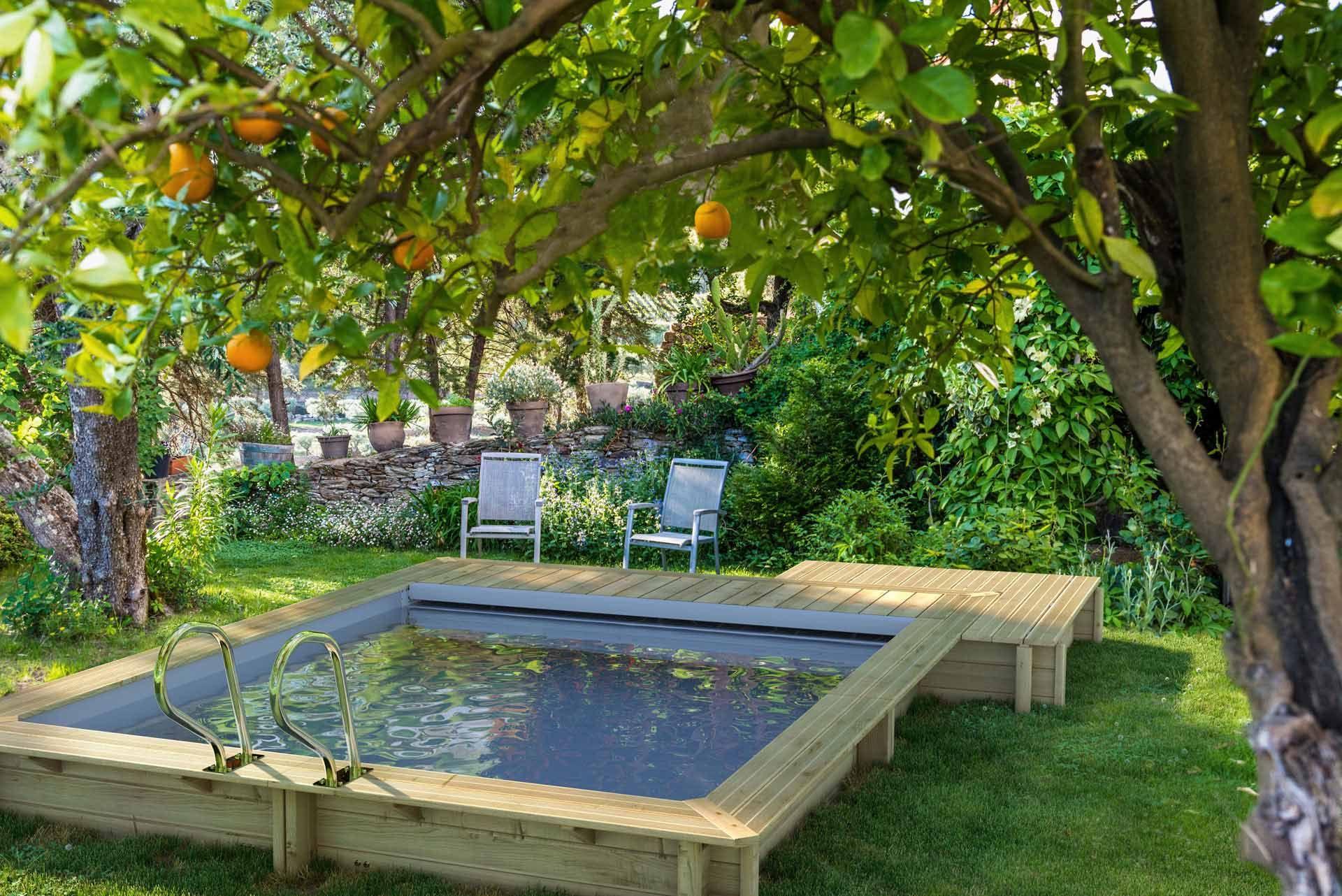 Quelle Piscine Choisir En Fonction De La Surface Du Jardin Piscine Hors Sol Bois Piscine Hors Sol Piscine Bois