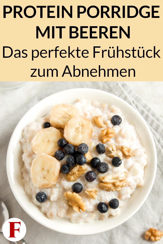 Protein Porridge Rezept – Gesundes Frühstück zum Abnehmen