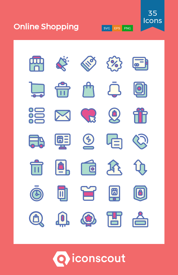 Download Online Shopping Icon Pack Available In Svg Png Eps Ai Icon Fonts Icon Pack Shop Icon Icon Font