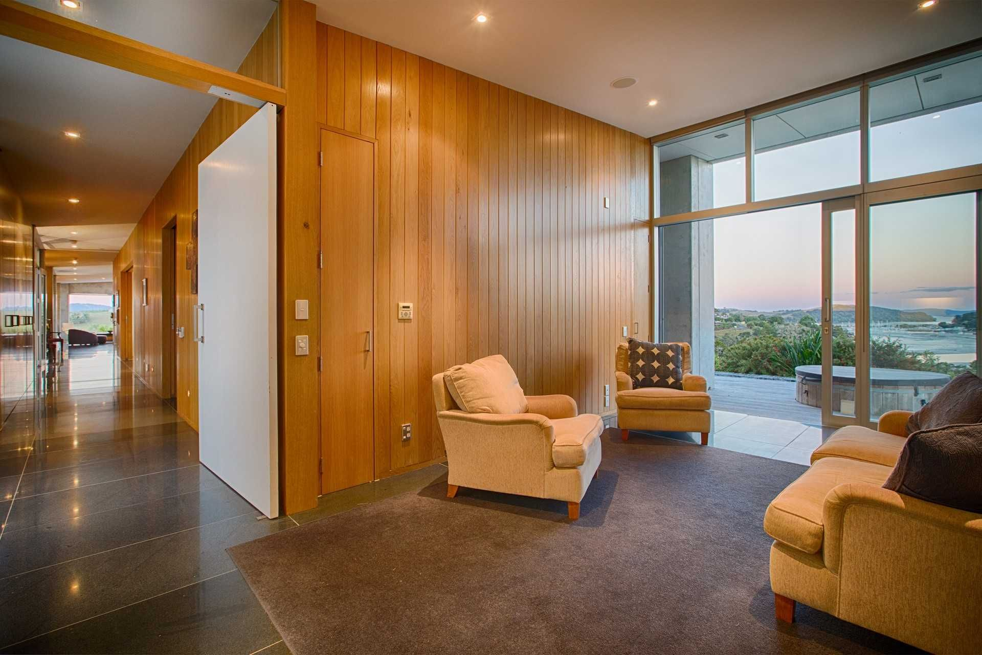 This modern contemporary designed home by Patterson Architect sits