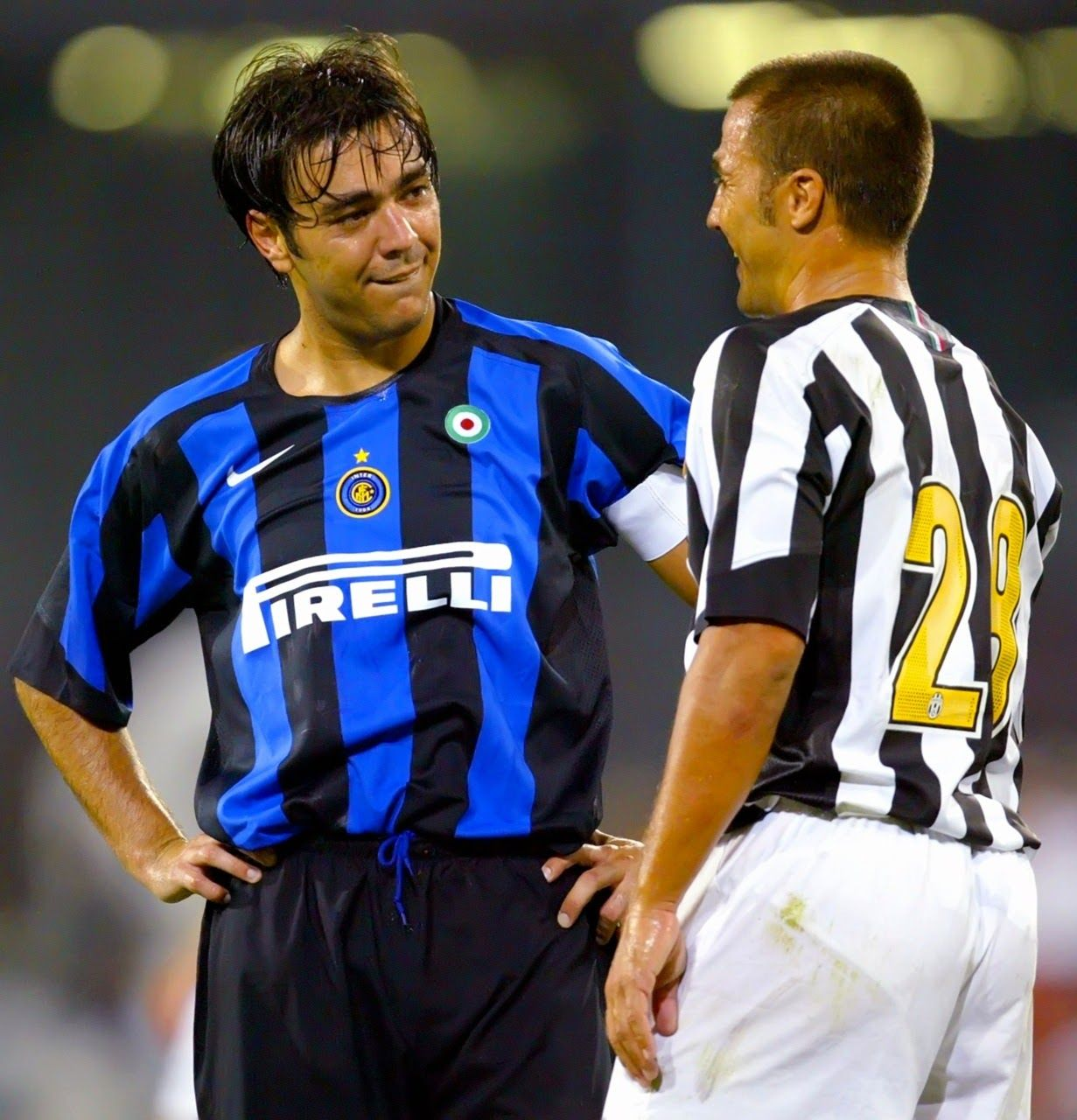 premium selection 53470 f7f98 Fabio Cannavaro & Alvaro Recoba - Inter Milan v Juventus ...