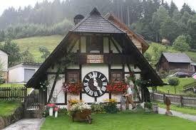 The Big Cuckoo Clock House Black Forest Germany Unusual Buildings House Cuckoo Clock