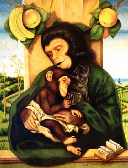 Ape Nativity