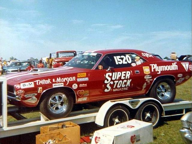 Mopar Wheelie Action From The NHRA Winternats! - Hot Rod ... |Cuda Stock Car