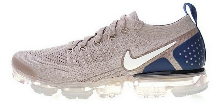 low priced 74b44 8b6e4 Più Recente Nike Air VaporMax 2 Light Brown Navy Bianca In Vendita