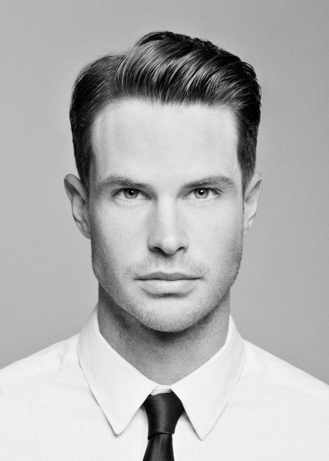 Hairstyles For Grooms A Look That Will Fit So Many Wedding Styles Groom Hairstyle Menshair Mad Men Hair Mens Hairstyles Short Mens Hairstyles