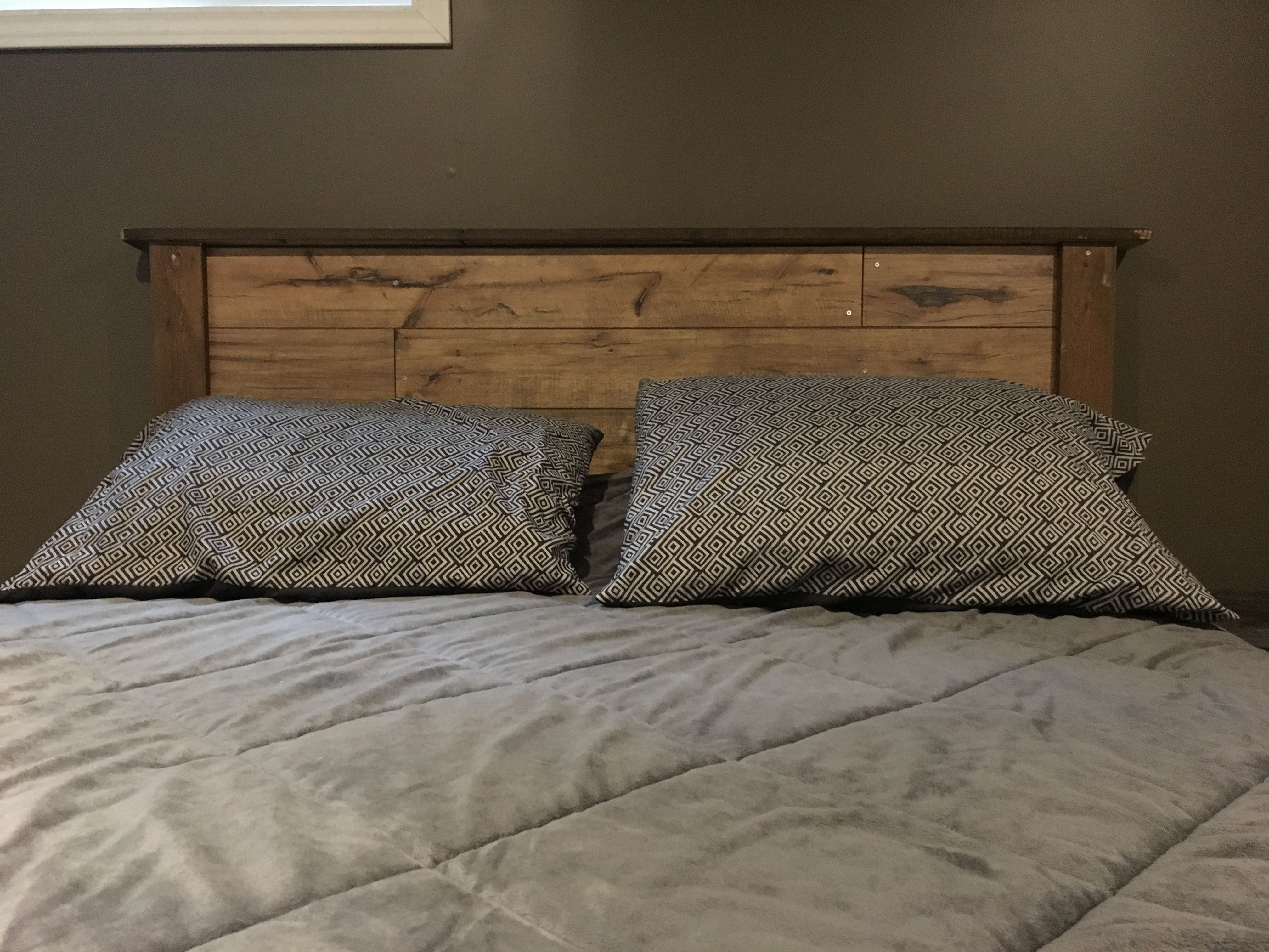 Headboard Made From Laminate Flooring Household