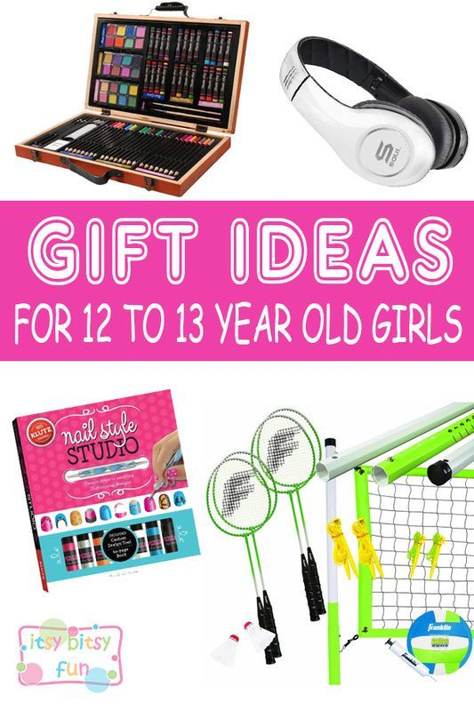 Christmas Gifts 2017 For Her Part - 33: Best Gifts For 12 Year Old Girls. Lots Of Ideas For 12th Birthday, Christmas