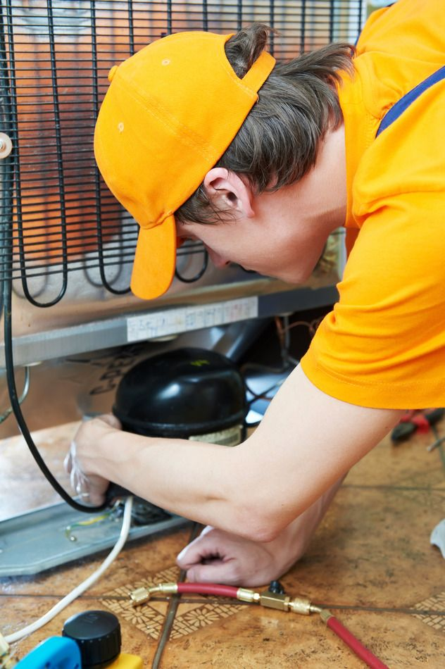 How To Fix A Refrigerator That Is Not Cooling Fridge Repair Appliance Repair Business Appliance Repair