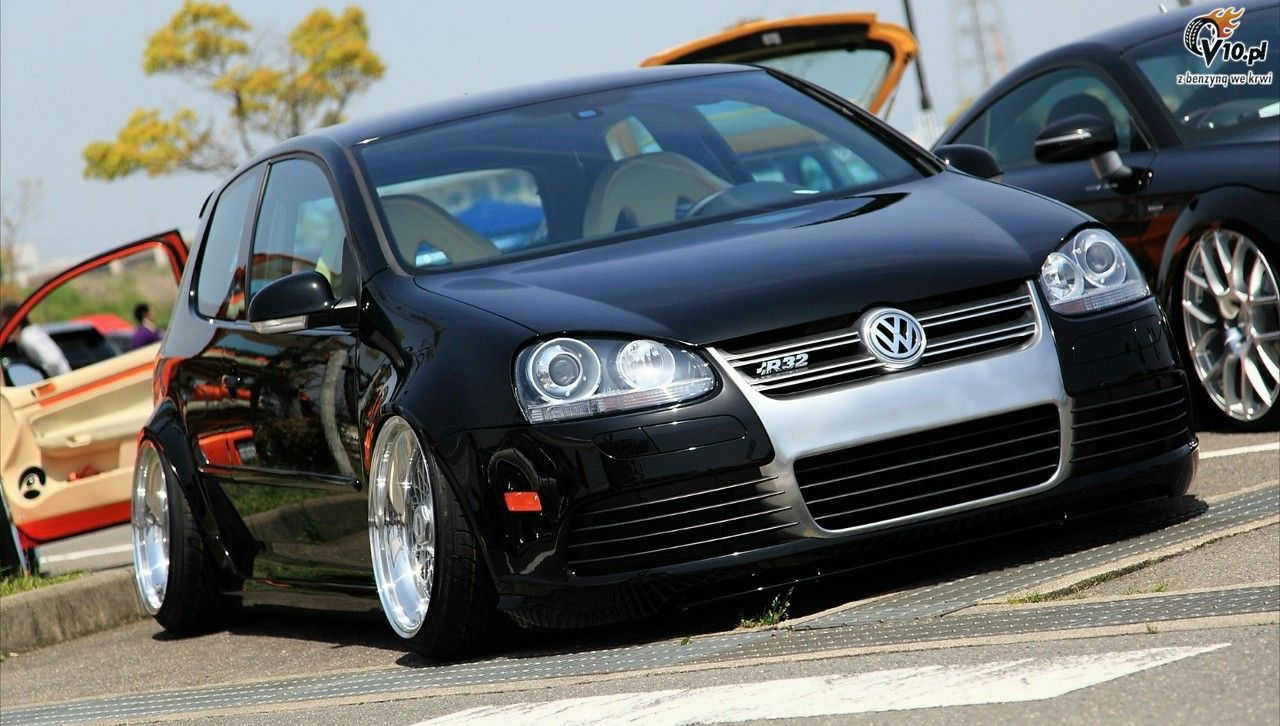 vw stance vw golf r32 stance 7 1280x726 petrol head. Black Bedroom Furniture Sets. Home Design Ideas