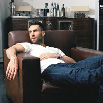 Adam Levine. Probably one of my favs! ;-)