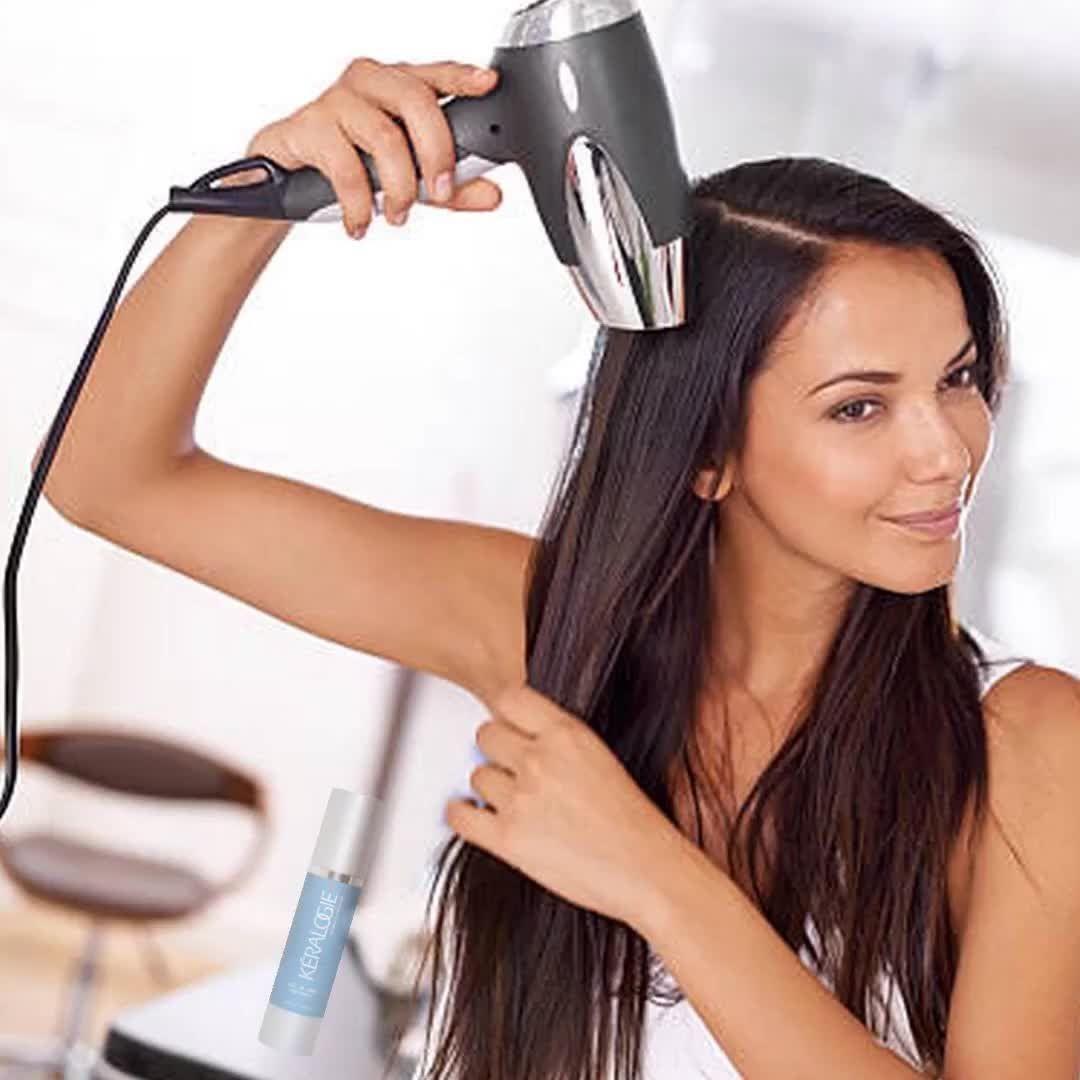 All-In-One Hair Therapy #brazilianstraightening All-In-One hair therapy: protects hair from heat, during keratin, Japanese hair treatments flat ironing or Brazilian straightening. Coupon - CM25 Would you like to receive daily hair tips? #instafashion #haircolour #naturallycurly #blonde #hairoftheday #curlyhairkillas