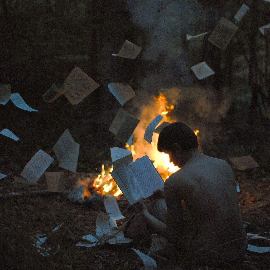 The Book Burning Book Burning Surrealism Photography Stoddard