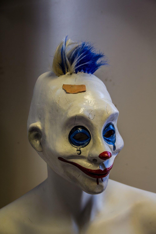Grumpy 1 1 Dark Knight TDK Mask, Joker s thug, Clown mask, Prop 4be7a1b7c5