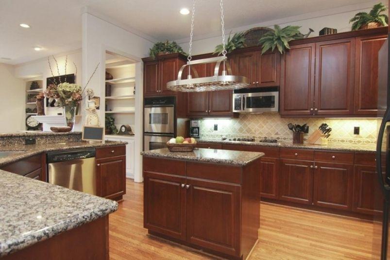 Lovely Greenery Above Kitchen Cabinets | Above kitchen ...
