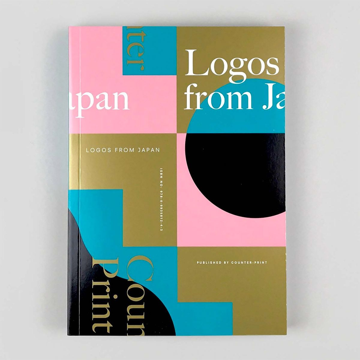 Logos From Japan By Counter Print Inspiration Grid Design Inspiration Print Inspiration Book Cover Design Book Design
