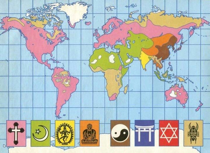 Worksheet. World religion map  Comparative Religion Club  Pinterest  Religion