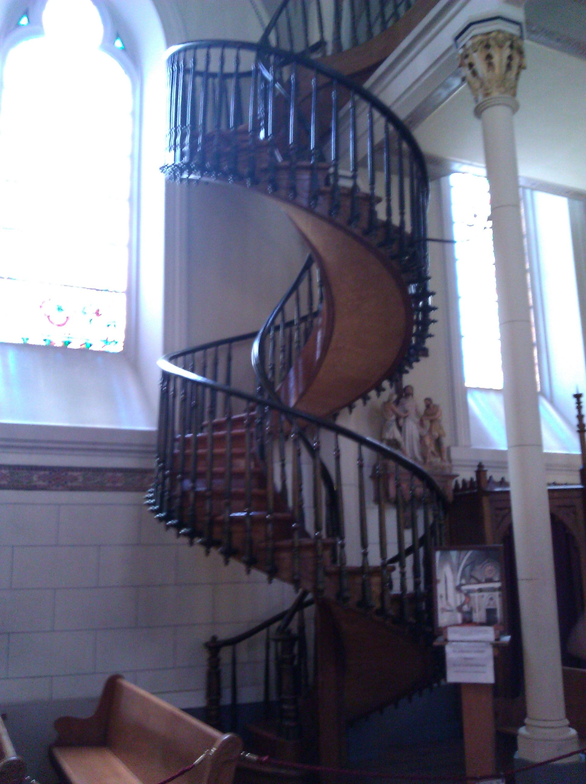 Best Spiral Staircase At Loreto Chapel Santa Fe New Mexico 400 x 300