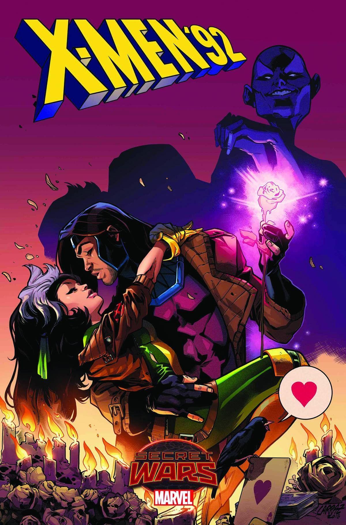 X Men 92 2 2015 Rogue Gambit Midtown Comics Marvel Comic Books