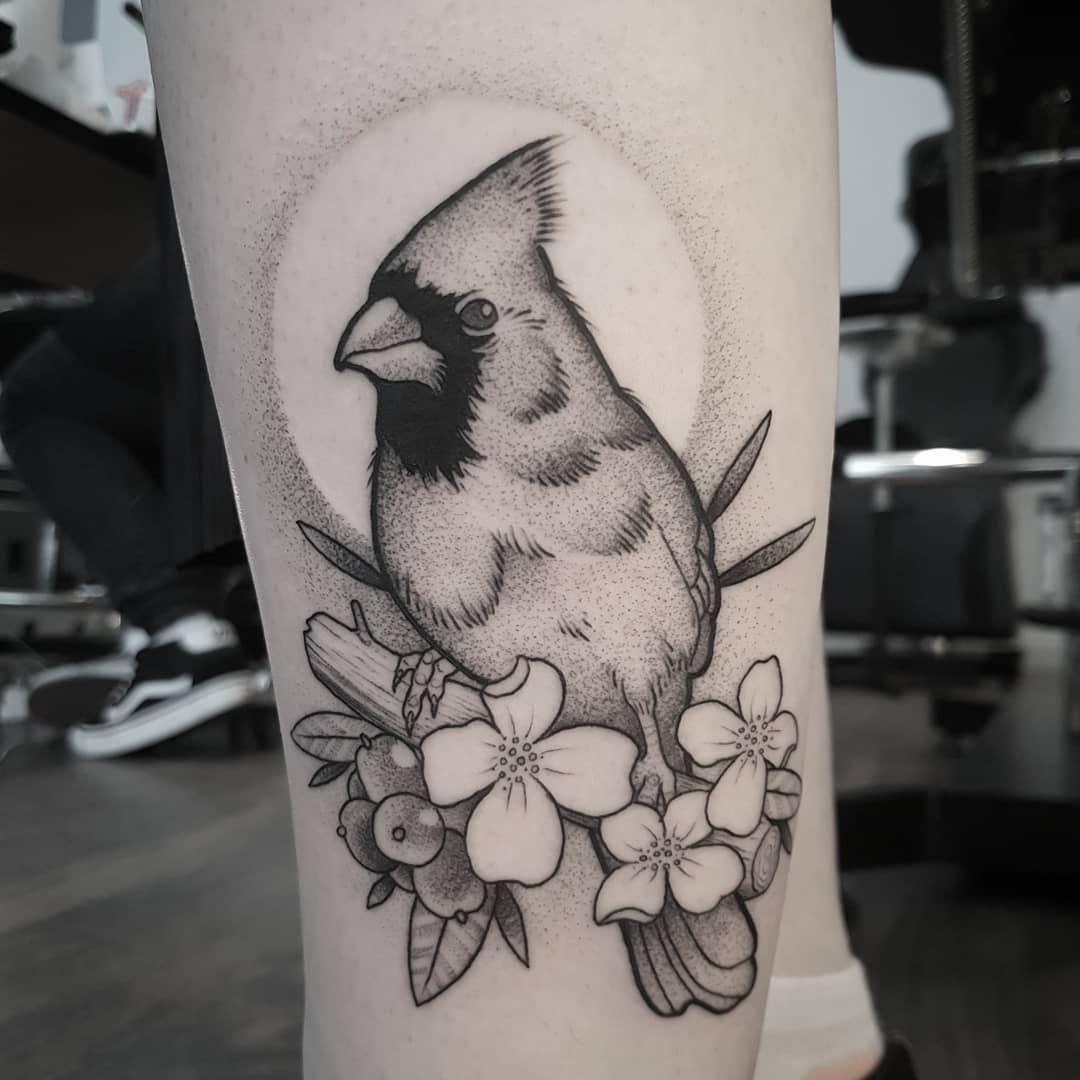 """Matt Pettis on Instagram: """"Little cardinal bird. #tattoo #tattoos #tattoodesign #tattooart #tattooflash #art #bodyart #drawing #sketch #artwork #artist #blackwork…"""" - Little cardinal bird. #tattoo #tattoos #tattoodesign #tattooart #tattooflash  You are in the right p - #angeltattoo #ankletattoo #arrowtattoo #Art #Artist #artwork #Bird #birdtattoo #blackwork #bodyart #Cardinal #Drawing #Instagram #liontattoo #lotustattoo #Matt #Pettis #Sketch #tattoo #tattooart #tattoodesign #tattooflash #Tattoo"""