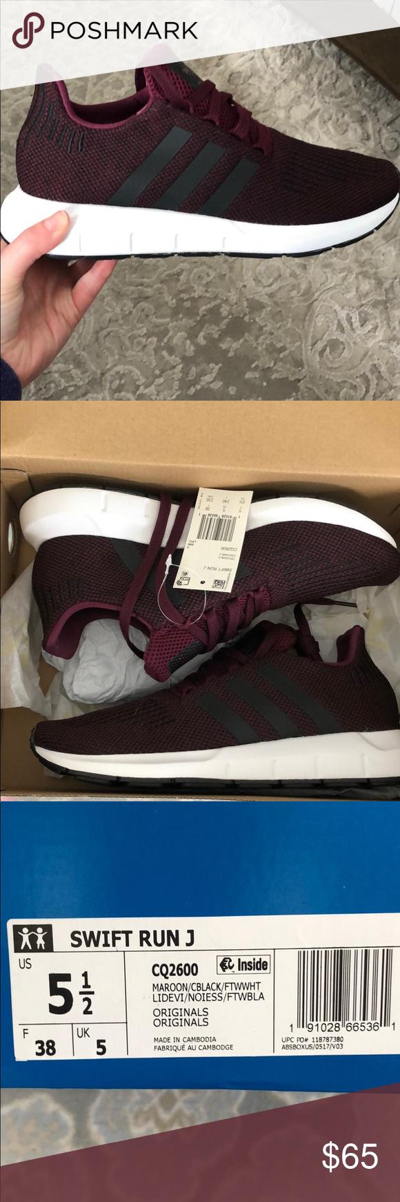 Adidas Swift Run J shoe size 5.5   J